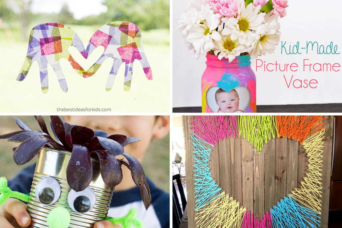 10 Stylish Kids Craft Projects You'll Definitely Want To Keep